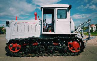 Гусеничный трактор Т-74 и его модификации