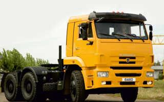 Седельный тягач КамАЗ 6460 — передовой большегруз