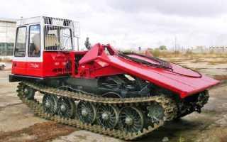 Трелевочный трактор ТТ-4 — описание и обзор модификаций
