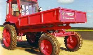 Шассик Т-16 — трактор-попрошайка