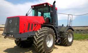 Трактор К-744 — современная «рабочая лошадка»