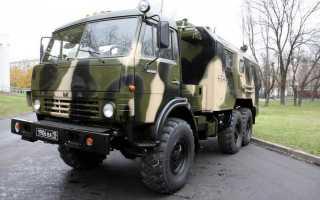 Шасси КамАЗ-43114 — особенности грузовика