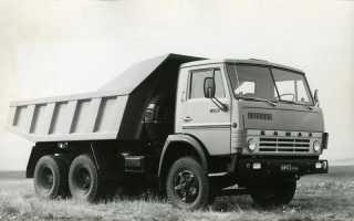 Самосвал КамАЗ-5511 — народный грузовик