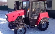 Трактор МТЗ-320 с двигателем от Ламборджини