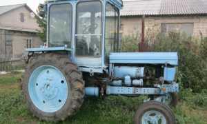 Трактор Т-28 (Владимирец) — народный трактор прошлого столетия