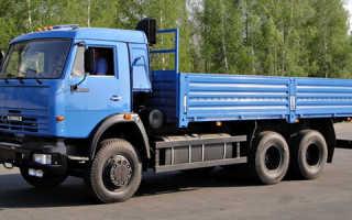 Шасси КамАЗ-53215 — обзор модели