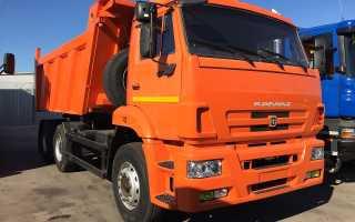 Самосвал КамАЗ 6520 — легендарный грузовик