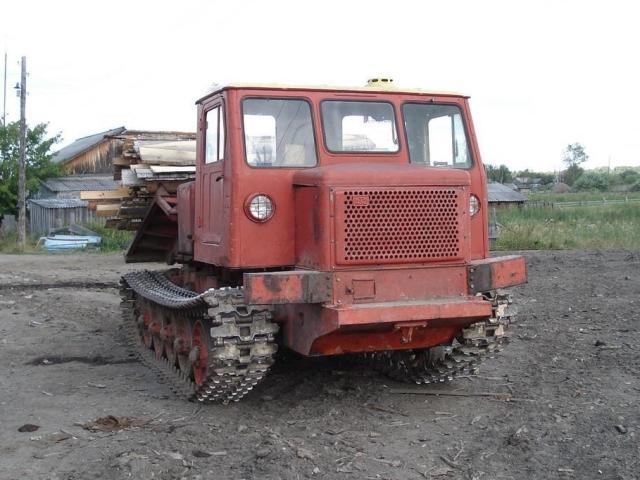 Трелевочный трактор ТДТ 60